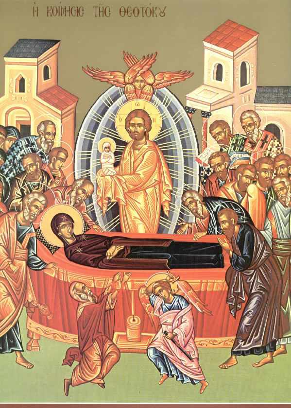 Η Κοίμησις της Θεοτόκου και ο Άγιος Ταρσίζιος