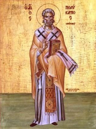 Ο Άγιος Πολύκαρπος Επίσκοπος Σμύρνης