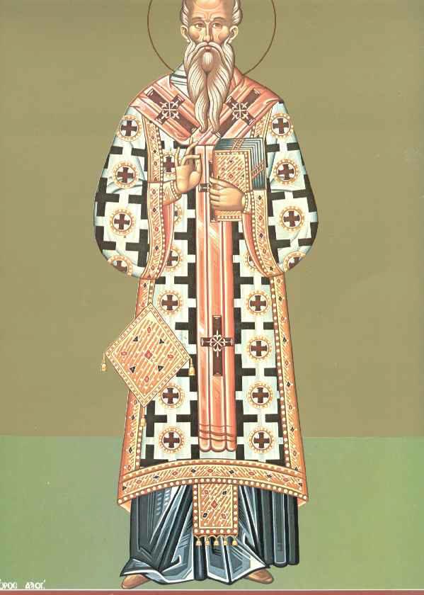 Ο Άγιος Ταράσιος Αρχιεπίσκοπος Κωνσταντινούπολης