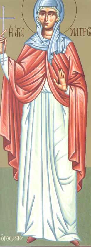 Η Αγία Ματρώνα η εν Θεσσαλονίκη