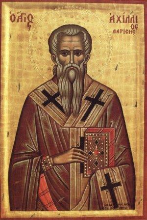Ο Άγιος Αχίλλιος Επίσκοπος Λαρίσης