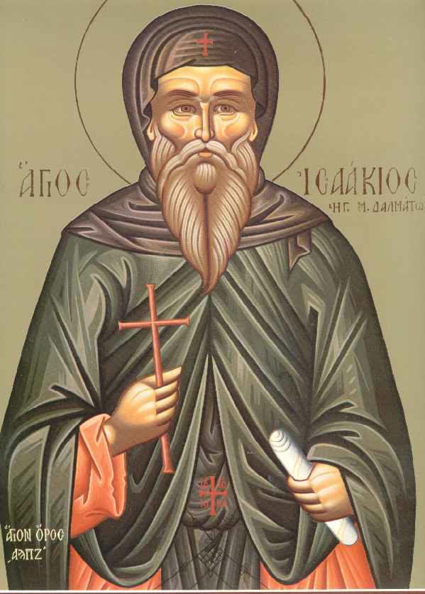 Ο Όσιος Ισαάκιος ο Ομολογητής ηγούμενος Μονής Δαλματών