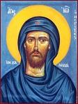Ο Όσιος Ιωάννης ο Θεριστής ο εν Καλαβρία