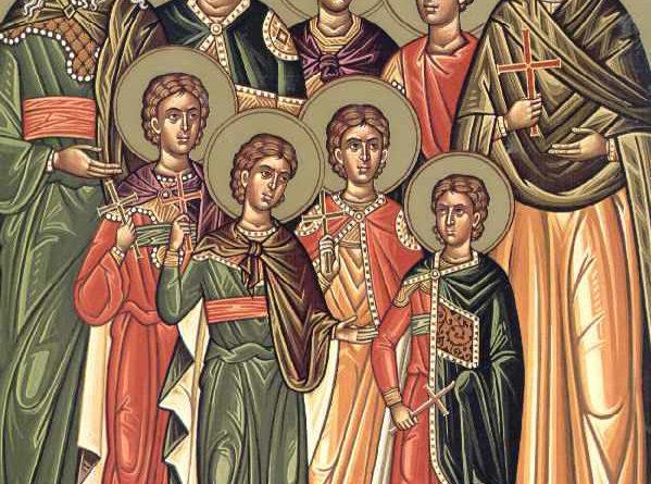 Οι Άγιοι Επτά Μακαβαίοι, η μητέρα τους Σολομονή και ο διδάσκαλός τους Ελεαζάρος