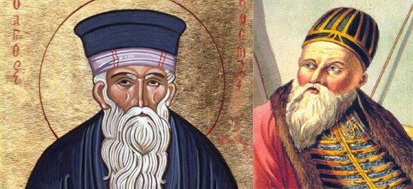 Ο Αλή Πασάς τιμά τον Άγιο Κοσμά