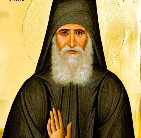 Ο Άγιος Παΐσιος ο Αγιορείτης